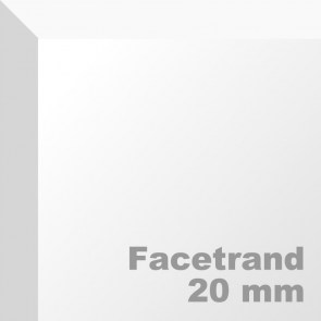 Facetrand aanbrengen